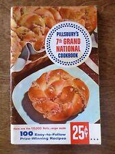 1956 Pillsbury 7th Grand National Recipe Contest Winners Cookbook Book