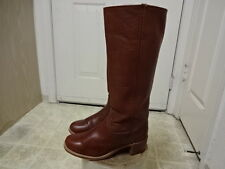 VINTAGE 70'S FRYE KNEE HIGH BOOTS GREAT COND FEW TIMES USED WON 10 B MOTORCYCLE