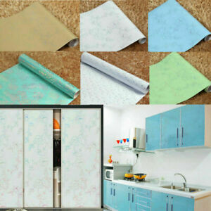 Kitchen Wall Sticker Self-adhesive Cupboard Cabinet Furniture Contact Paper 5m