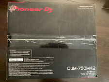 Pioneer DJM-750MK2 Professional 4-Channel DJ Mixer DJM750MK2 - NEW IN BOX SEALED