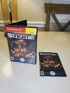 Def Jam Fight for NY PS2 case, cover art, and manual only