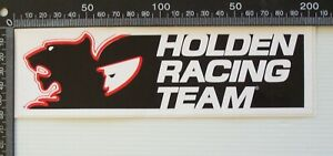 VINTAGE HOLDEN RACING TEAM AUSTRALIA HRT RACE SPONSOR ADVERTISING CAR STICKER