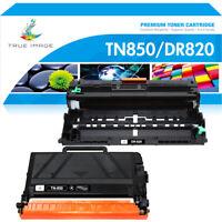 1 Toner 1 Drum Compatible for Brother TN850 DR820 HL-L6200DW MFC-L5800DW L5850DW