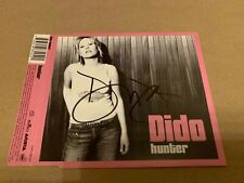 DIDO   -  HUNTER  -  SIGNED  UK  CD EP  - AUTHENTIC  -  UACC RD