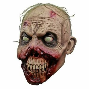 Adult Mens Rotten Gums Zombie Halloween Costume Latex Realistic Funny Full Mask