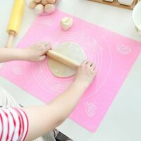 Kitchen Baking Cooking Tool Silicone Rolling Cut Mat Fondant Pastry Roll Mat No