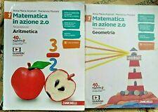 MATEMATICA IN AZIONE 2.0 VOL.1 (IN 2 TOMI) - TERZA EDIZ.- ARPINATI - ZANICHELLI