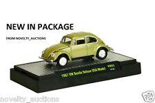 L11 32500 VW03 M2 MACHINE AUTO THENTICS 1967 VW  BETTLE DELUXE USA MODEL GREEN