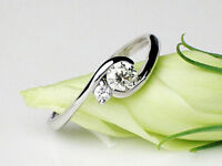 1.79 CT Off White yellow Round Cut Moissanite Ring Wedding Ring 925 Silver NR78