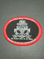 Motorhead's Motorboat The Loudest Boat In The World Patch Iron on Woven Badge