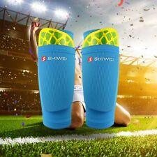 1 PCS Kinder Adult Sport Schienbeinschutz Socken Fußball Waden Ärmeln Mit Tasche
