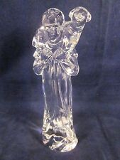 WATERFORD CRYSTAL Nativity Shepherd with Sheep Lamb ~ EXCELLENT