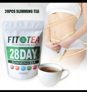 Detox Tea Bags x 28 - Herbal Green Tea Detox Supplement,  for Diet & Max Cleanse