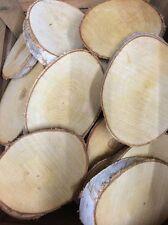 Logaritmo NATURALE FETTA corteccia di betulla decorazione tavola di nozze centrotavola 22-30cms