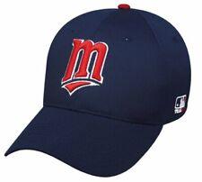 Minnesota Twins MLB OC Sports Hat Cap Navy Blue Red M Logo Adult Mens Adjustable