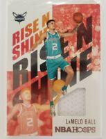 LaMelo Ball 2020-21 NBA Hoops rc Rise N Shine Patch - Charlotte Hornets RNS-LBL