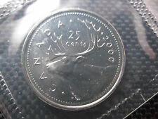 2000 Canadian Prooflike Quarter ($0.25)  W   ***RARE***