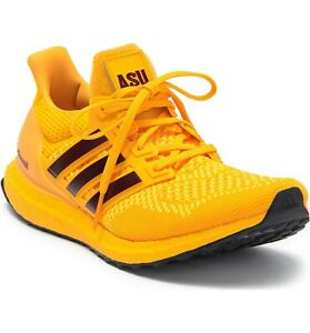 Adidas Ultraboost 1.0 Arizona State Sun Devil Yellow Gold 10 FY5809 ASU Forks Up