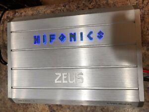Hifonics Zeus ZRX1016.4 1000W Class AB Car Audio 4-Channel Car Amplifier
