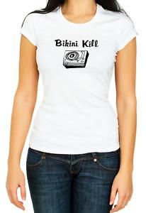 Bikini Kill T-shirt 3/4 Short Sleeve  Woman K1039
