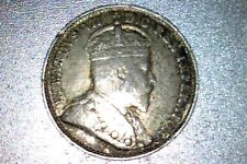 1903H CANADA SILVER 5 CENTS - Large H variety
