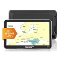 XGODY 5'' GPS SAT NAV Navigation Free Full Europe Map Touchscreen 8GB 128MB 560