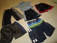 DESIGNER LOT BOYS CLOTHES ELASTIC WAIST POLYESTER PANTS SHORTS SWIM SUIT 2T 24M