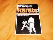 enciclopedia del karate 2° : tecniche di combattimento 1986 illustrato b/n