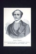 Il patriota e presbitero italiano Enrico Tazzoli