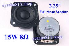 """2.25"""" inch 8Ohm 8Ω 15W Full-Range Audio Speaker Loudspeaker Woofer Horn for SONY"""