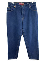 Levis 550 Jeans Classic Relaxed Fit Tapered Leg Size 14 Inseam 29