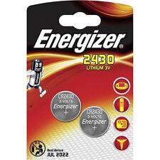 Energizer 3-Volt Lithium Batteries CR2430 DL2430