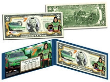 DANICA PATRICK Nascar * Go Daddy * Colorized U.S. $2 Bill *OFFICIALLY LICENSED*