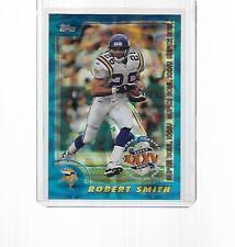 2001 TOPPS FOOTBALL SUPERBOWL XXXV ROBERT SMITH #7