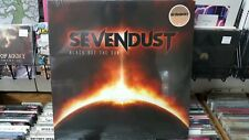SEVENDUST - BLACK OUT THE SUN - RED/BLACK/ORANGE SPLATTER VINYL  OUT OF PRINT