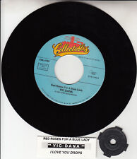 """VIC DANA Red Roses For A Blue Lady & I Love You Drops 7"""" 45 rpm vinyl record NEW"""