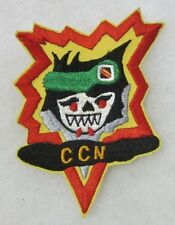 CCN SPECIAL FORCES - Post VIETNAM WAR Made SKULL PATCH for VETERANS & COLLECTORS