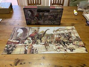 Dinotopia - Dinosaur Parade - 750 Piece Puzzle (1993) [Missing 1 Piece]