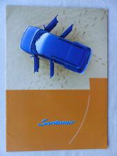 Hyundai SANTAMO Galopper - Mitsubishi Space Wagon - Prospekt Brochure 07.1999