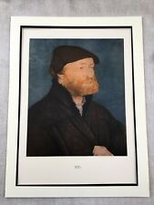 1911 Antique Print Hans Holbein the Younger Self Portrait Painting Limited Edt