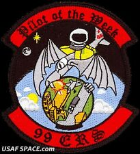 USAF 99TH EXPEDITIONARY RECONNAISSANCE SQ - SR-71 - PILOT OF THE WEEK -VEL PATCH