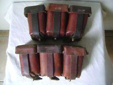 Paar Patronentaschen für Mauser 98 aus dem 1. WK