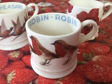 Emma Bridgewater Hedges Red Robin Baby Mug New  Discontinued