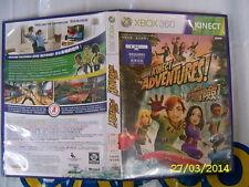XBOX360 GAME KINECT ADVENTURES (ORIGINAL USED)