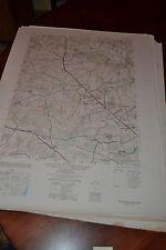 1940's Army topographic map Reistertown Maryland -Sheet 5662 Iv Ne