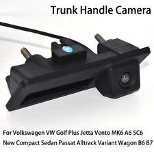 Car Rear View Trunk Handle Camera for Volkswagen VW Golf Plus Jetta Vento MK6 A6