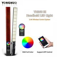 Yongnuo YN360 Pro LED Luz de vídeo portátil III stick barra Bicolor 3200-5500K Rgb