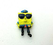 "2003 VIACOM SPONGEBOB SQUAREPANTS 2"" PVC MINI FIGURE Police Man"