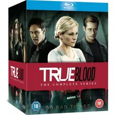 True Blood Complete Season 1 to 7 Blu Ray 2008 Region a Great Gift