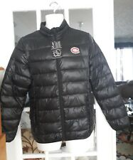 NWT  NHL FANATICS Montreal Canadiens HABS black puffer coat jacket mens S-M